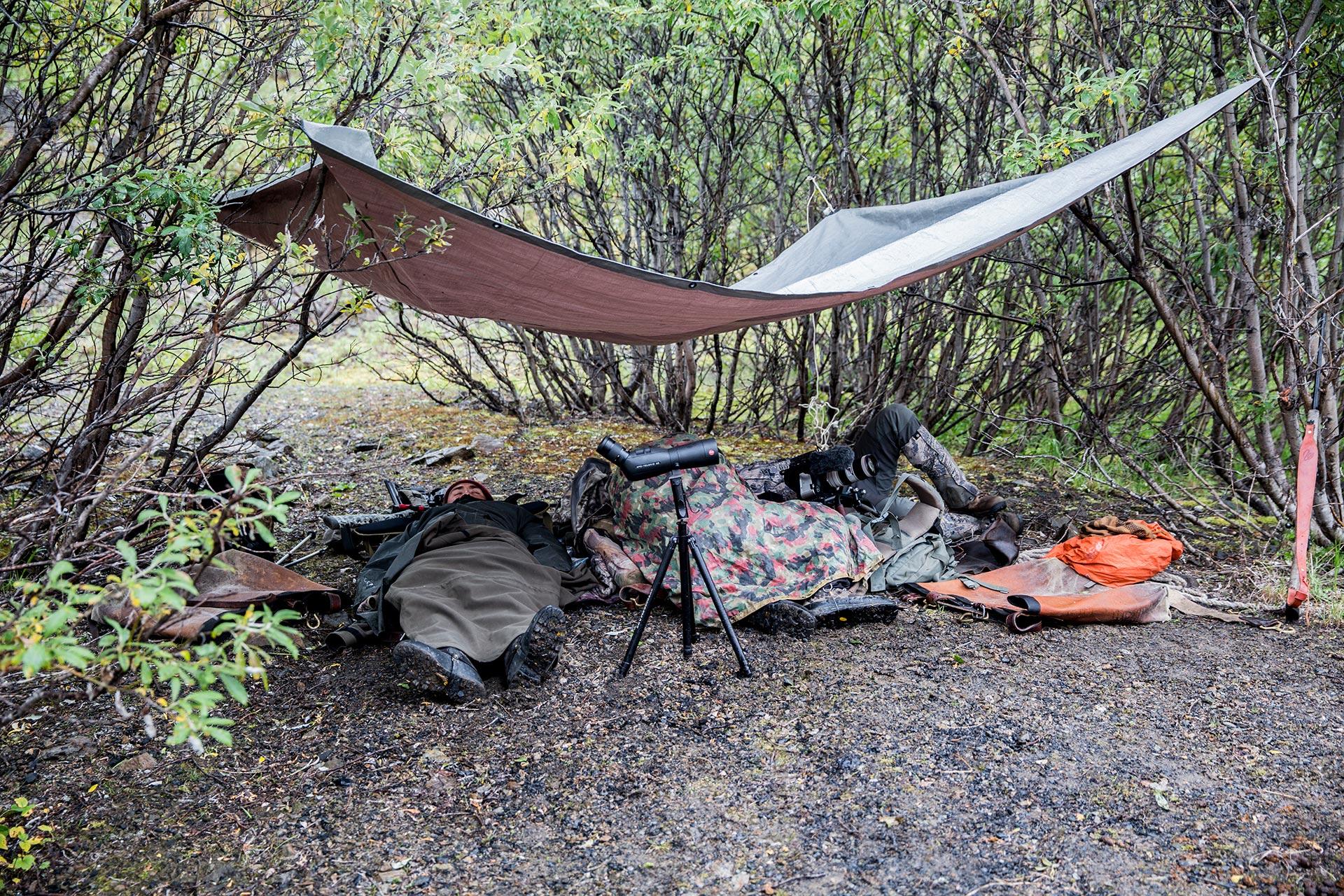 hunt camp